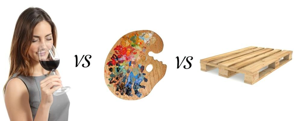 Palate vs palette vs pallet wine club spelling for How do you spell pallets
