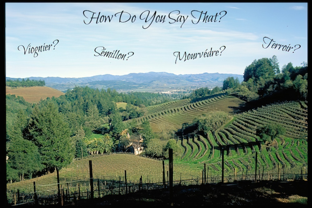 Wine Words - How Do You Say That? - The California Wine Club