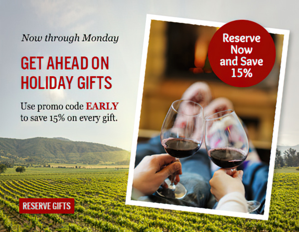 Get ahead on holiday gifts and save.