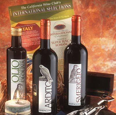 The California Wine Club 3-Month International Gift Membership