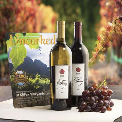 Premier Series Ongoing Membership - 1 Red & 1 White Wine - Quarterly Delivery