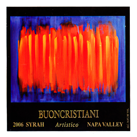 Buoncristiani Family Winery 2006 Napa Valley Syrah