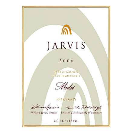 Jarvis Winery 2006 Estate Grown Merlot, Napa Valley