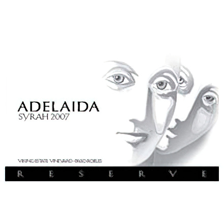 Adelaida Cellars 2007 Viking Estate Vineyard Paso Robles Syrah Reserve