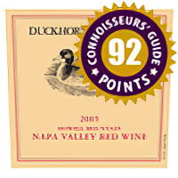 Duckhorn Vineyards 2005 Howell Mountain Napa Valley Red Wine