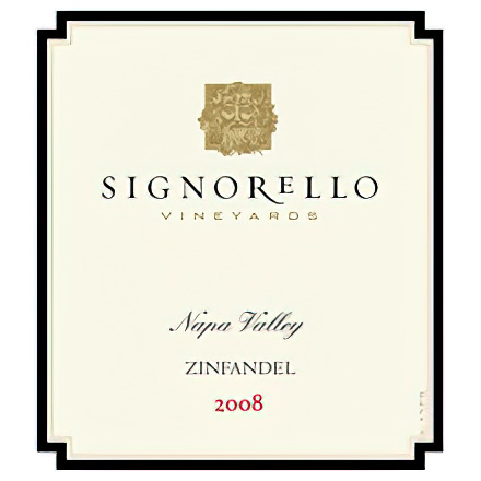 Signorello Vineyards 2008 Luvisi Vineyard, Napa Valley Zinfandel