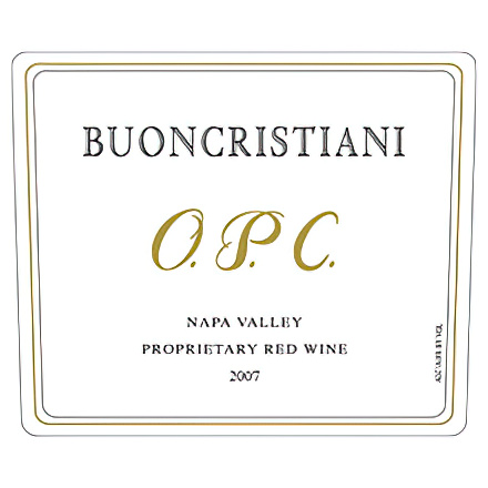 Buoncristiani Family Winery 2007 OPC Napa Valley Proprietary Red Wine