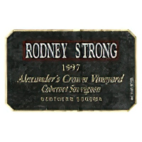 Rodney Strong Vineyards 1997 Alexander's Crown Cabernet Sauvignon