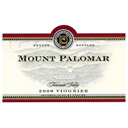 Mount Palomar Winery 2008 Viognier