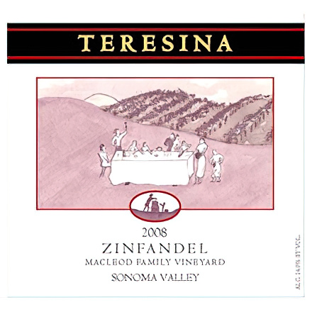Teresina Family Vintners 2008 MacLeod Family Vineyard Zinfandel