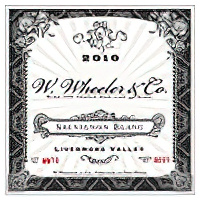 W. Wheeler Wines 2010 Livermore Valley Sauvignon Blanc