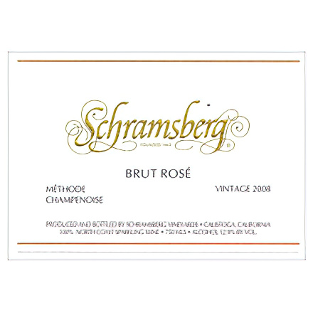 Schramsberg Vineyards 2008 Brut Rose