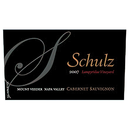 Schulz Cellars 2007 Lampridae Vineyard, Mount Veeder, Napa Valley Cabernet Sauvignon