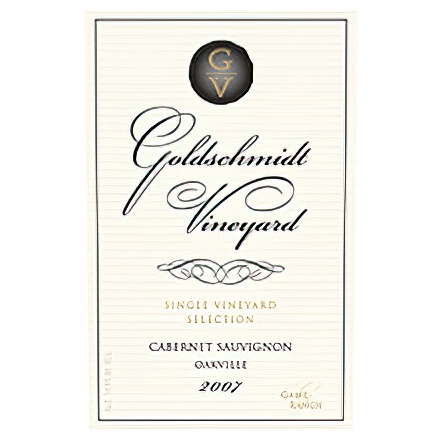 Goldschmidt Vineyards 2007 Game Ranch, Oakville Cabernet Sauvignon