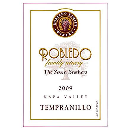 Robledo Family Winery 2009 Napa Valley