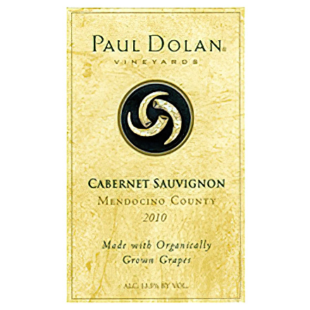 Paul Dolan Vineyards 2010 Mendocino County Cabernet Sauvignon