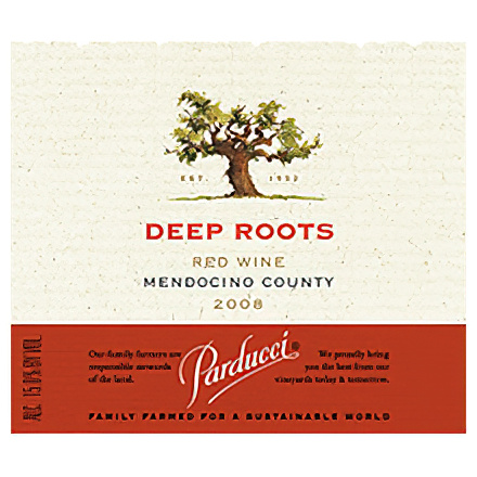 Parducci Wine Cellars 2008 Deep Roots Mendocino County Red Wine