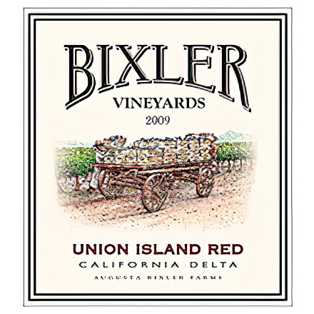 Bixler Vineyards 2009 Union Island Red, California Delta