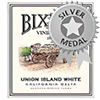 Bixler Vineyards 2009 Union Island White, California Delta