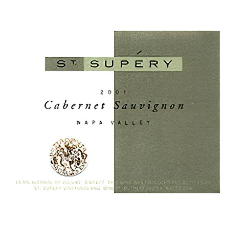 St. Supery Vineyards & Winery 2001 Mt. Veeder, Napa Valley Cabernet Sauvignon