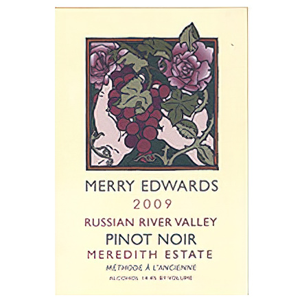 Merry Edwards Wines 2009 Meredith Estate Pinot Noir