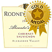Rodney Strong Vineyards 2001 Alexander's Crown Cabernet Sauvignon