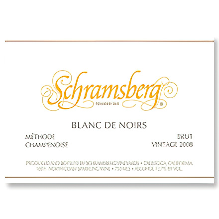 Schramsberg Vineyards 2008 Blanc de Noirs