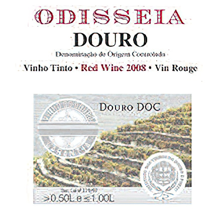 Odisseia Wines 2008 Douro Valley Tinto (Red)