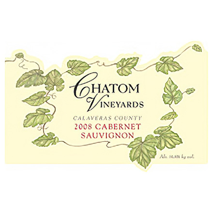 Chatom Vineyards 2008 Calaveras County Cabernet Sauvignon
