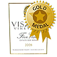 Viszley Vineyards 2008 Five Vines Estate Red