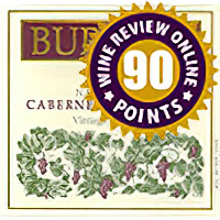Burgess Cellars 2002 Vintage Selection Napa Valley Cabernet Sauvignon