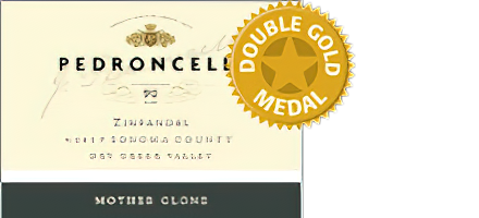 Image of Pedroncelli Winery 2017 Dry Creek Valley Sonoma County Mother Clone Zinfandel