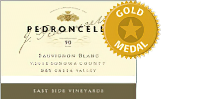 Image of Pedroncelli Winery 2018 East Side Vineyards Dry Creek Valley Sonoma County Sauvignon Blanc