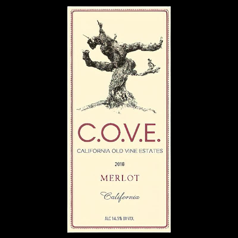 WildRose Vineyards 2018 COVE Lodi Merlot