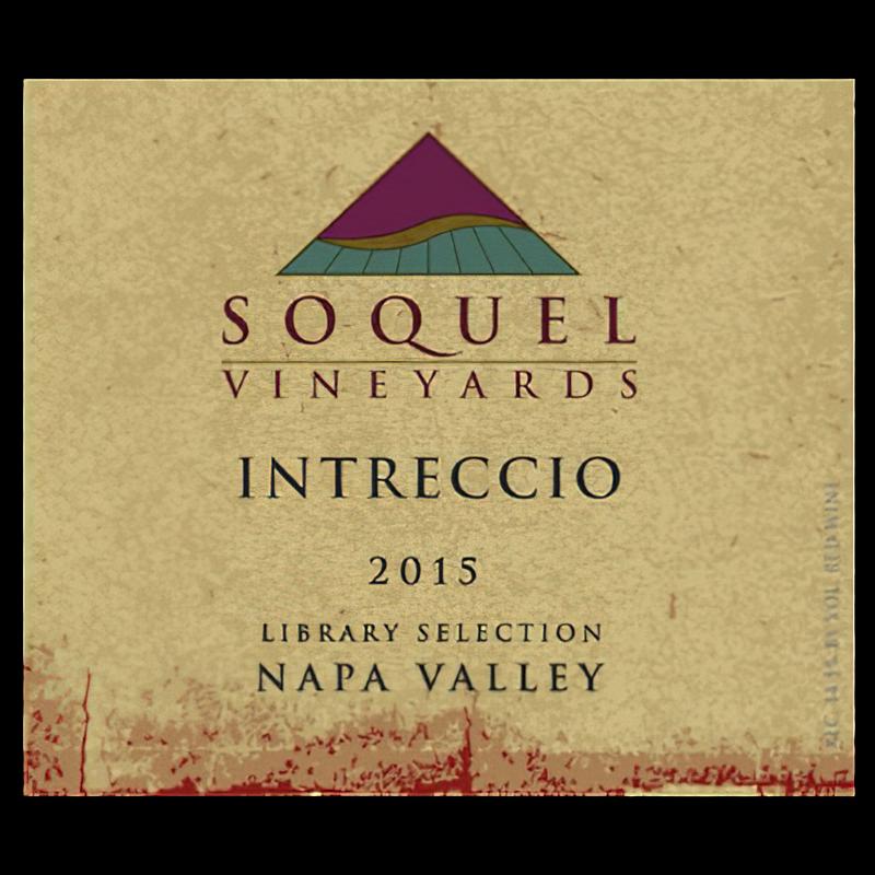Soquel Vineyards 2015 Intreccio Library Selection Napa Valley Red