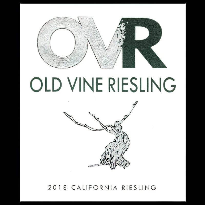 Marietta Cellars 2018 OVR California Old Vine Riesling