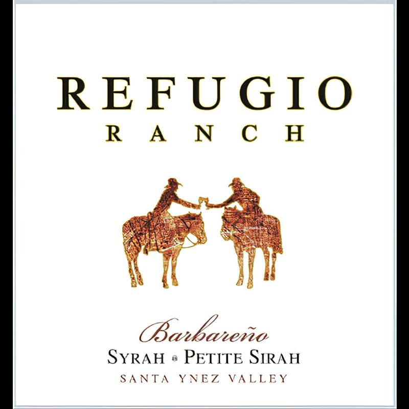 Refugio Ranch Vineyards 2016 Santa Ynez Valley Barbareño SyrahPetite Sirah