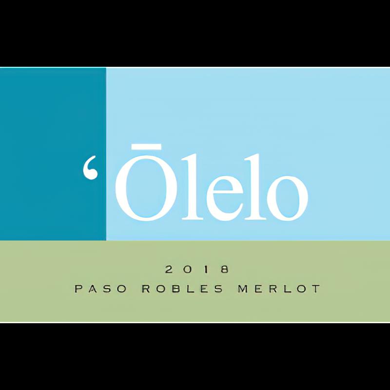 'Ōlelo Wines 2018 Paso Robles Merlot