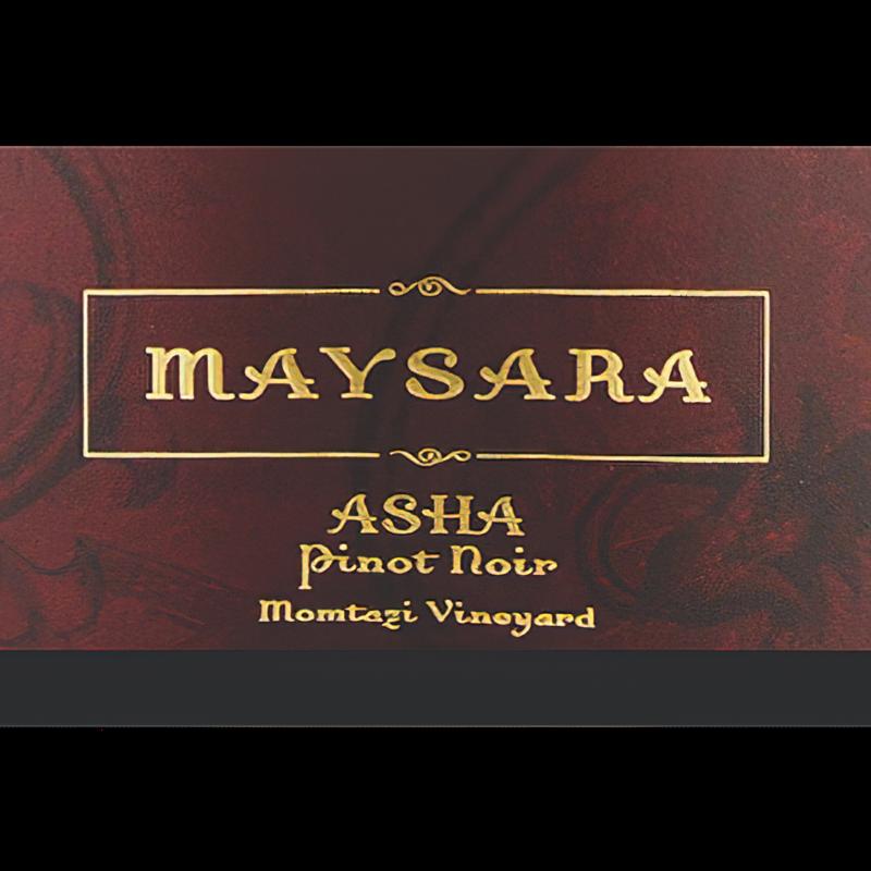 Maysara Winery 2014 Momtazi Vineyard Asha Pinot Noir