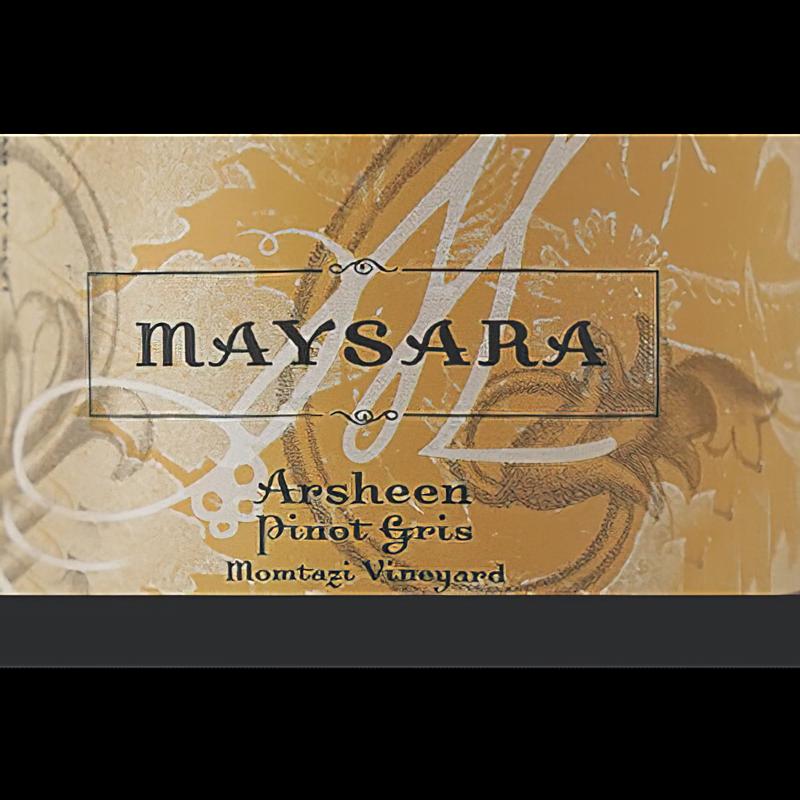 Maysara Winery 2018 Momtazi Vineyard Arsheen Pinot Gris