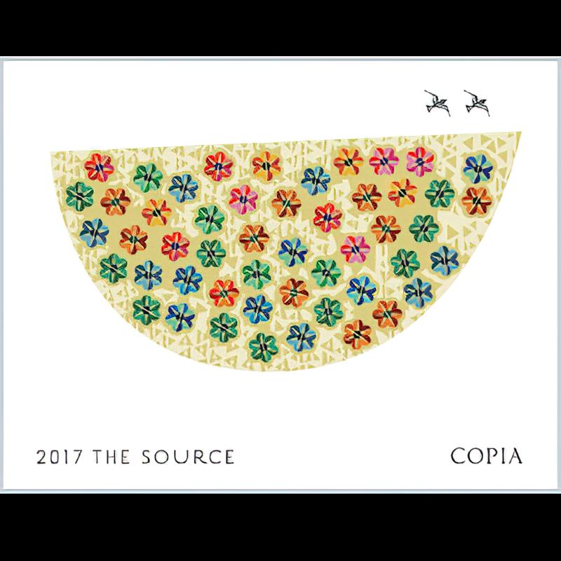 Copia Vineyards Winery 2017 The Source Santa Barbara County Syrah