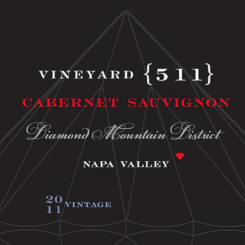 Vineyard 511 Diamond Mountain District Napa Valley 2011 Cabernet Sauvignon