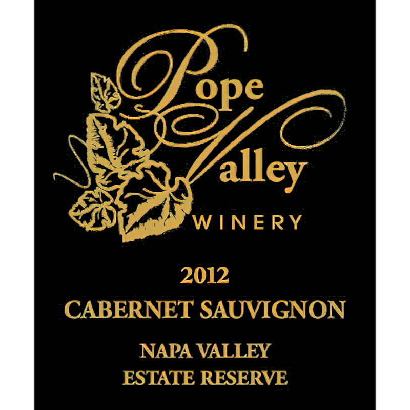 Pope Valley Winery 2012 Napa Valley Estate Reserve Cabernet Sauvignon