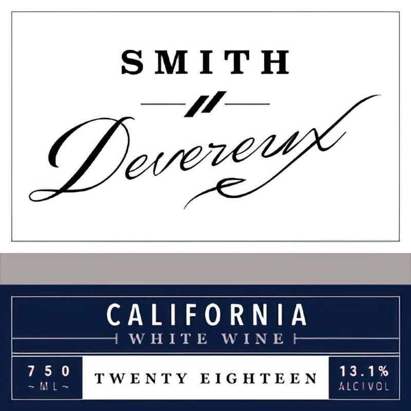 Smith Devereux Wines 2018 California SB White Blend