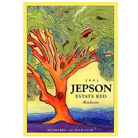 Jepson Wines 2003 Estate Mendocino Red Wine