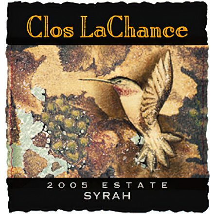 Clos LaChance Winery 2005 Central Coast Syrah
