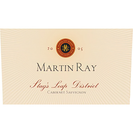 Martin Ray Winery 2005 Stags Leap District Cabernet Sauvignon