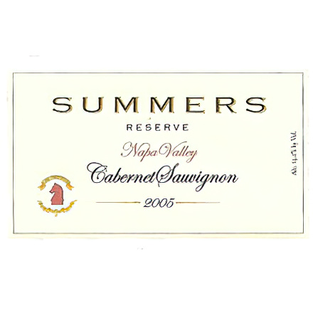 Summers Estate Wines 2005 Napa Valley Reserve Cabernet Sauvignon