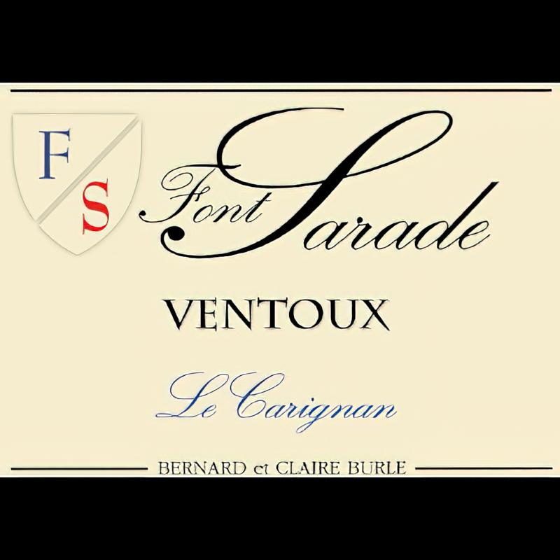 Domaine Font Sarade 2018 AOP Ventoux Le Carignan