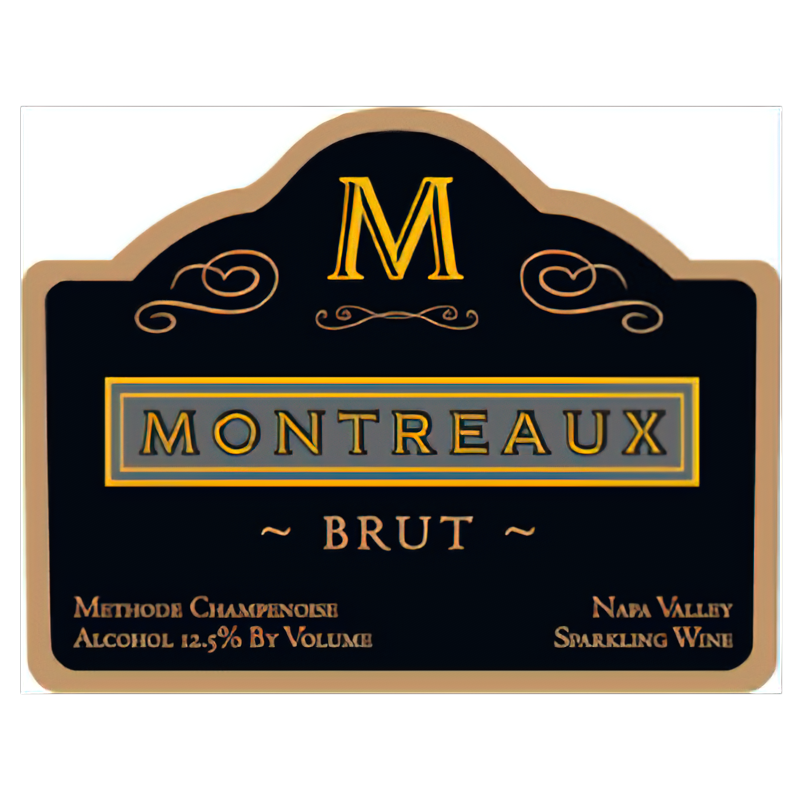 Monticello Vineyards Montreaux Brut Napa Valley Sparkling Wine
